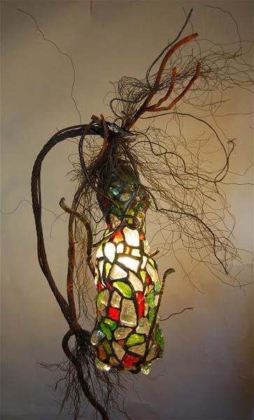 leadedchunkglasslampsculpture4