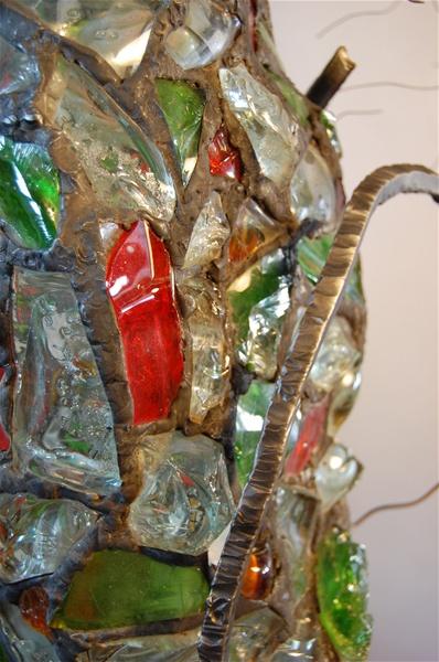 leadedchunkglasslampsculpturedetai1