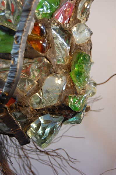 leadedchunkglasslampsculpturedetai3